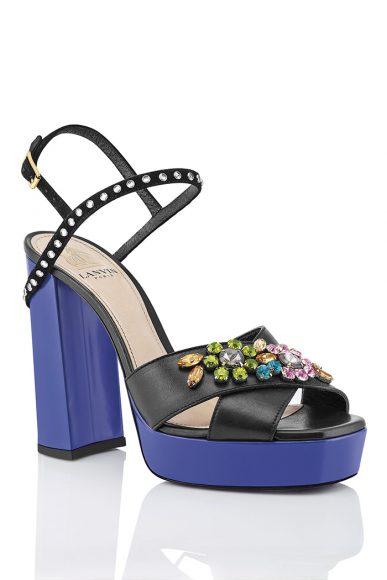 Lanvin Chaussures Maretto Noir