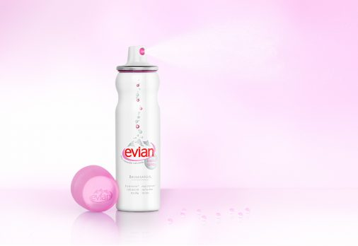 Vaporisateur Evian