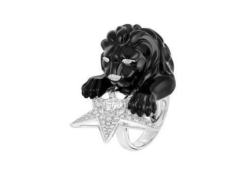 Bague Constellation du Lion Onyx Chanel